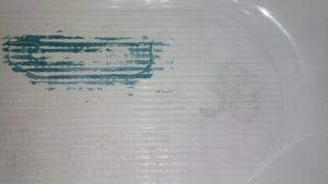 ремонт трещины на акриловой ванне