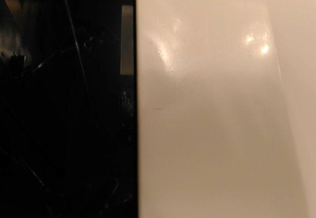 Ремонт скола на акриловой раковине