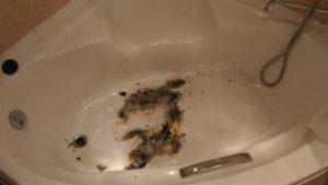 сгорела акриловая ванна