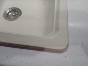 как отремонтировать трещину на кухонной мойке из искусственного камня