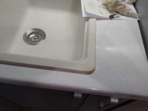 ремонт раковин из керамогранита