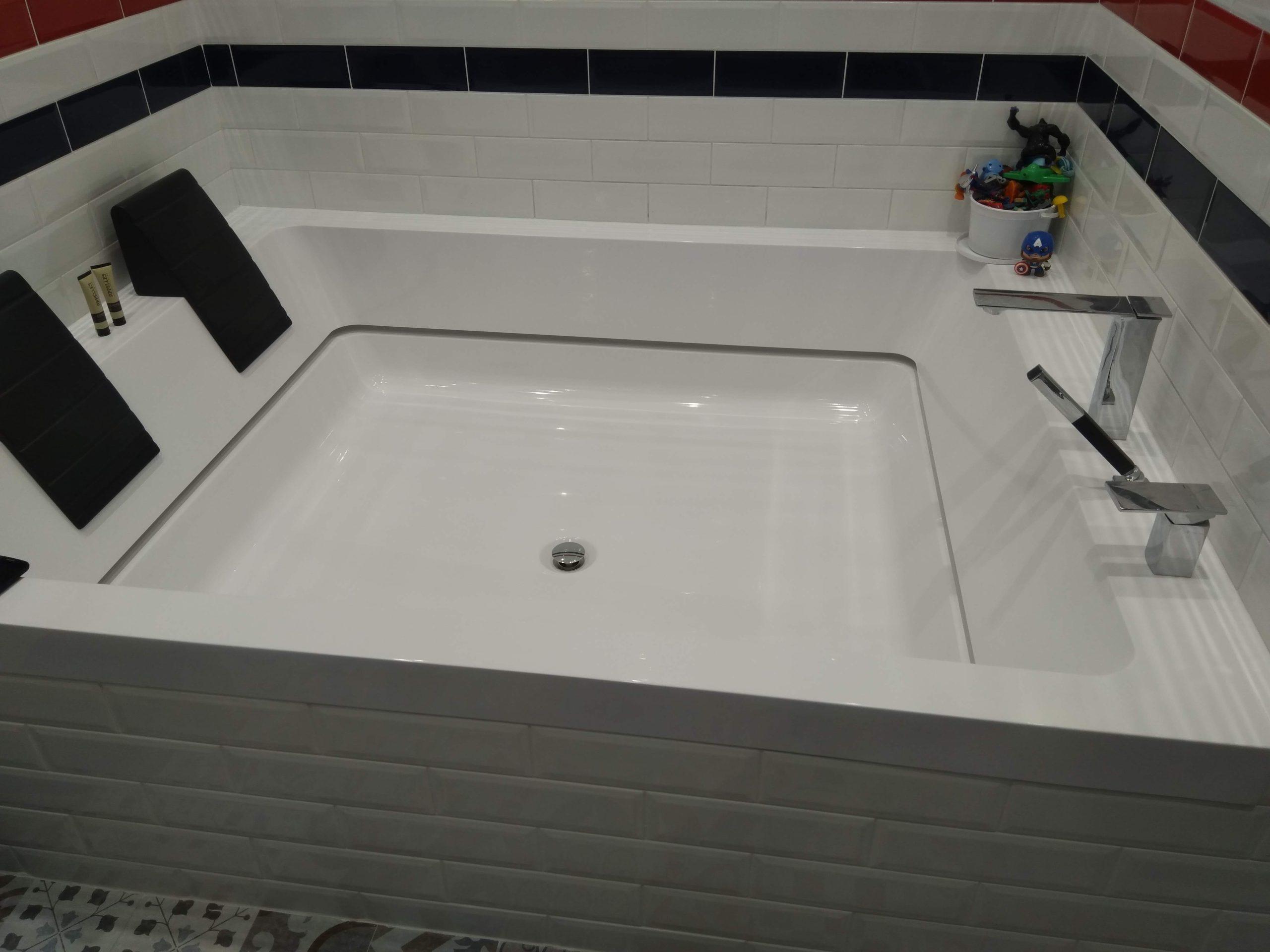 Ремонт квариловых ванн
