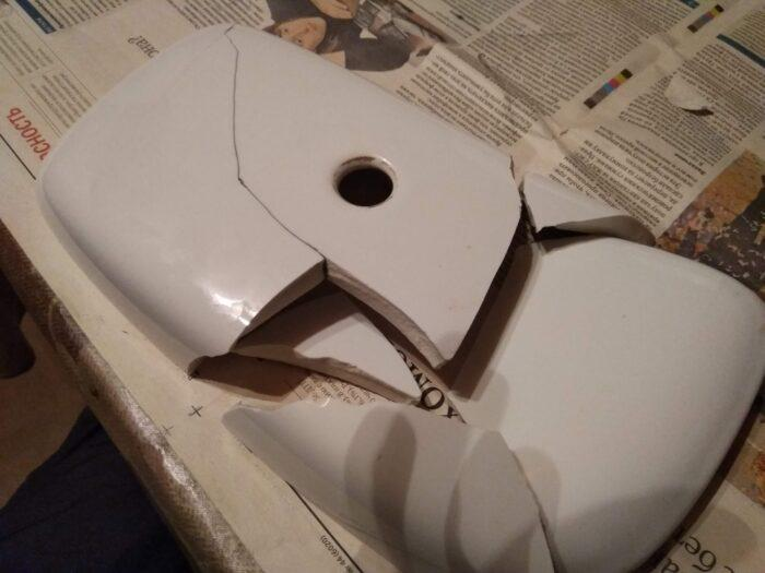 ремонт крышки бачка унитаза