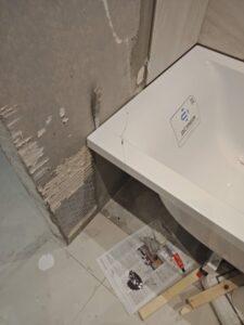 Локальный ремонт ванн из литьевого мрамора