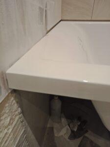 Откололся кусок от ванны из камня, ремонт