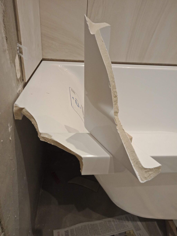 Ремонт ванн из литьевого мрамора